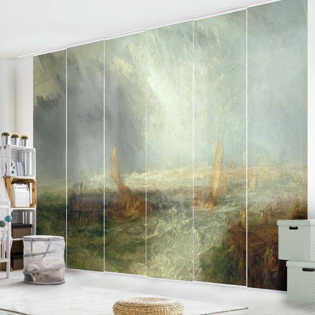 Schiebegardinen Set - William Turner - Ostende - Flächenvorhänge