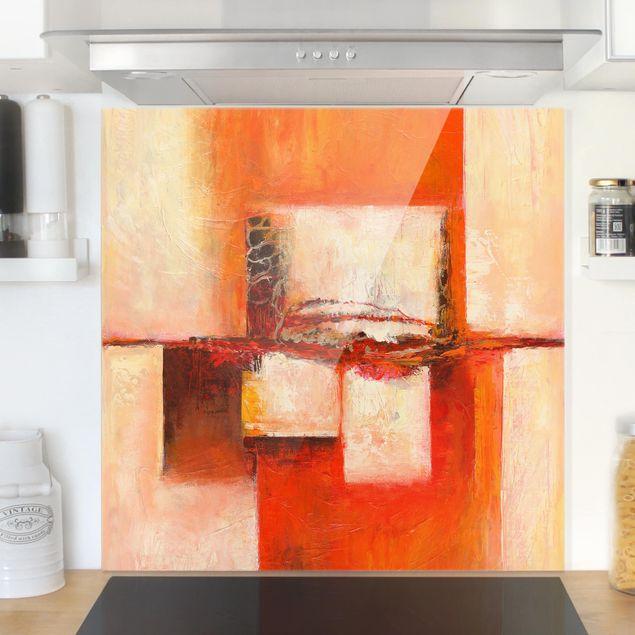 Glas Spritzschutz - Shambala - Quadrat - 1:1