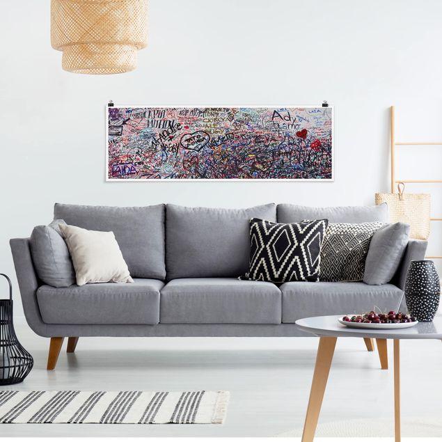 Poster - Verona - Romeo & Julia - Panorama Querformat