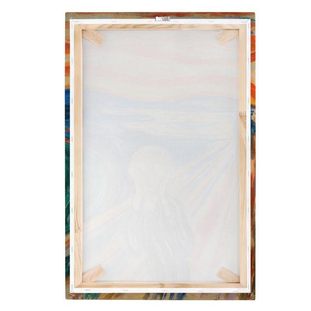 Leinwandbild - Edvard Munch - Der Schrei - Hochformat 3:2
