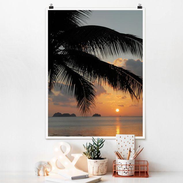 Poster - Five Islands - Hochformat 3:4