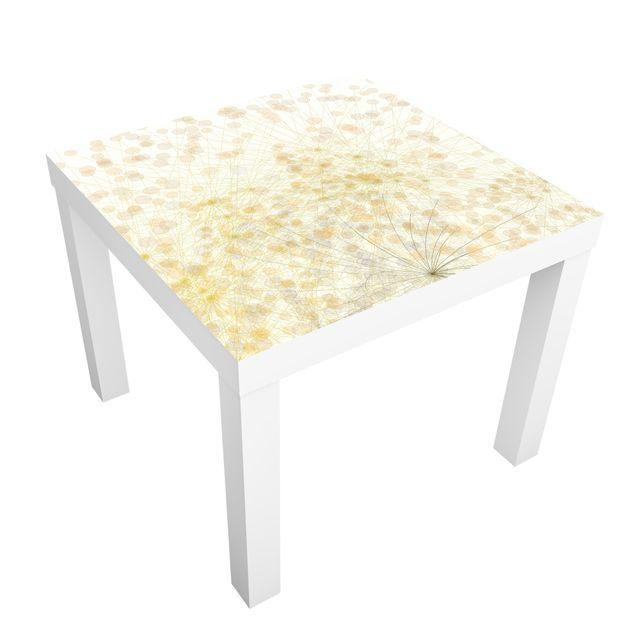Möbelfolie für IKEA Lack - Klebefolie No.RY6 Blütenregen