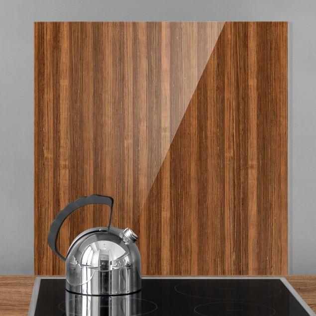 Glas Spritzschutz - Amazakou - Quadrat - 1:1