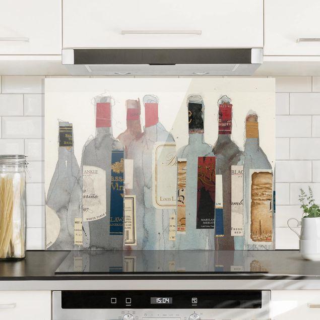 Glas Spritzschutz - Wein & Spirituosen I - Querformat - 4:3