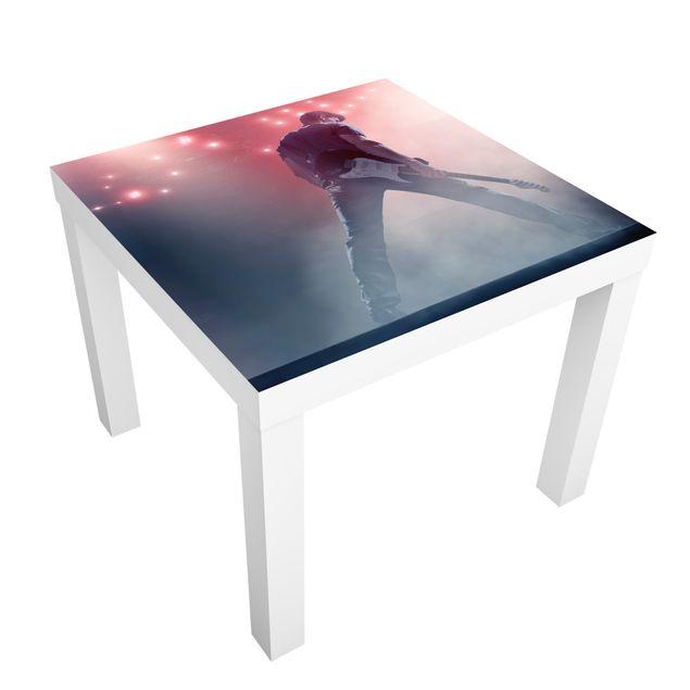 Möbelfolie für IKEA Lack - Klebefolie Rockstar