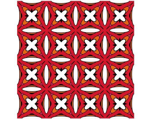 Beistelltisch - Sechziger Hintergrund Muster