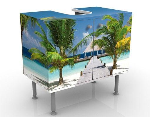 Waschbeckenunterschrank - Catwalk To Paradise - Badschrank