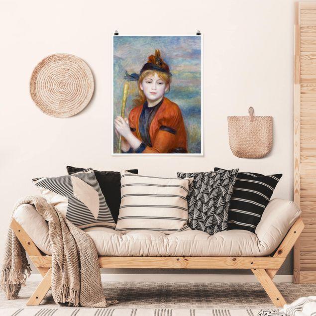 Poster - Auguste Renoir - Die Spaziergängerin - Hochformat 3:4