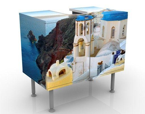 Waschbeckenunterschrank - Santorini - Badschrank
