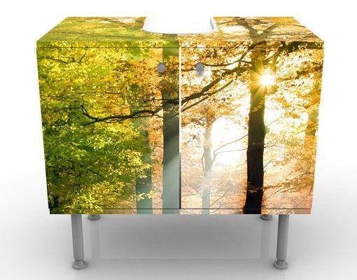 Waschbeckenunterschrank - Morning Light - Badschrank Grün