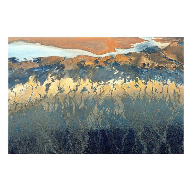 Forex Fine Art Print - Kalifornien aus der Luft - Querformat 2:3