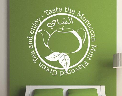 Wandtattoo No.1428 Moroccan Tea