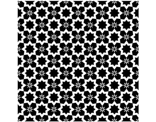 Beistelltisch - Schwarzweiße Sterne