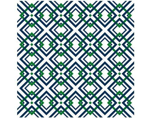 Beistelltisch - Karo Musterdesign