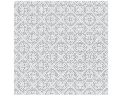 Beistelltisch - Barock Muster in Grau