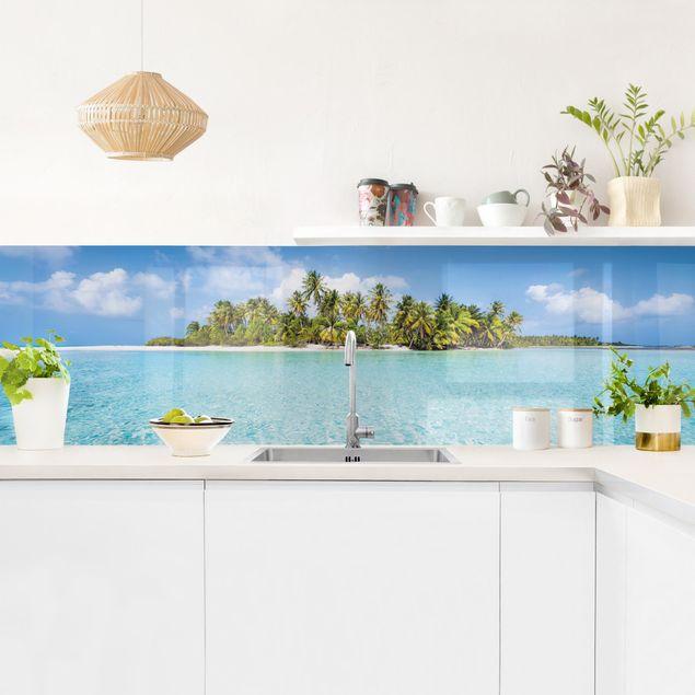 Küchenrückwand - Crystal Clear Water