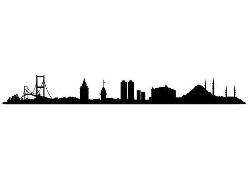 Wandtattoo Skyline No.1436 Istanbul Skyline