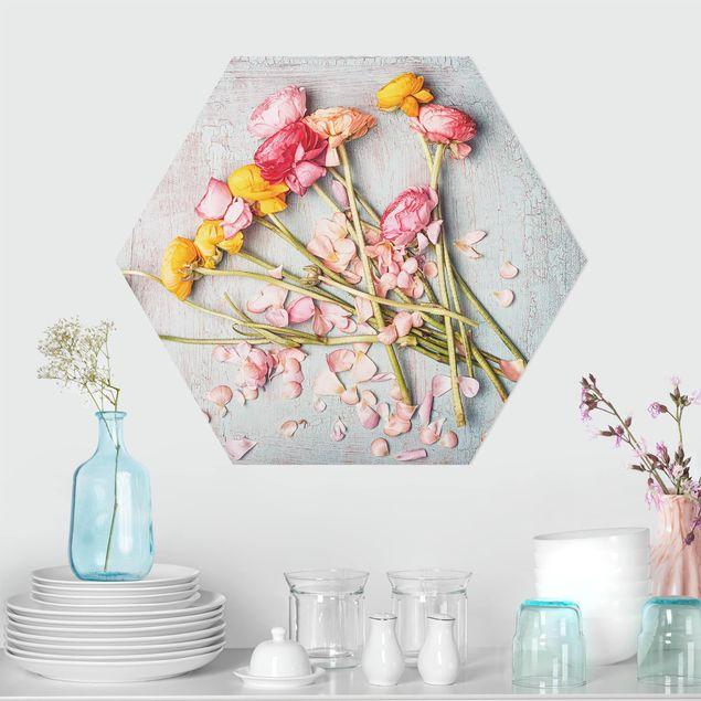 Hexagon Bild Forex - Blütenblätter