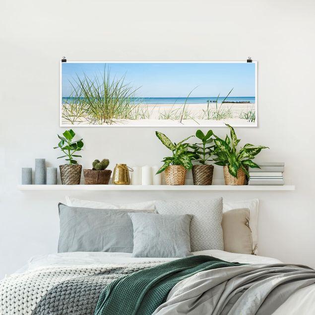 Poster - Ostseeküste - Panorama Querformat