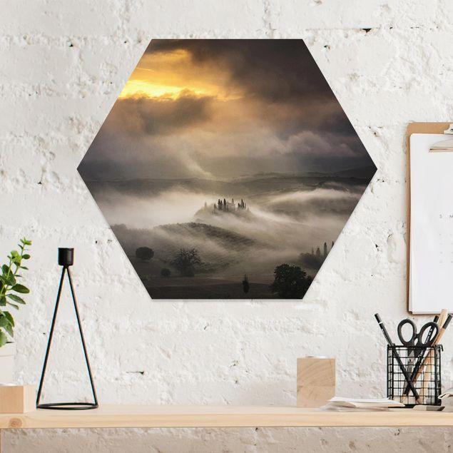 Hexagon Bild Forex - Nebelwellen