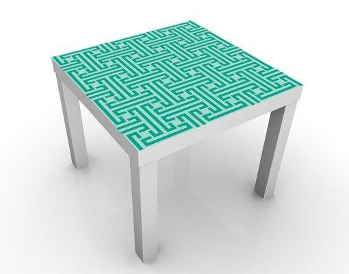 Beistelltisch - Dekoratives Labyrinth