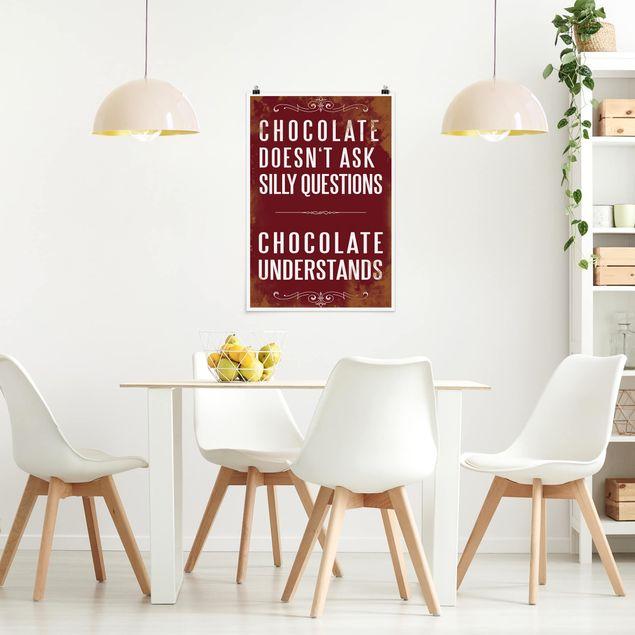 Poster - No.KA22 Chocolate - Hochformat 3:2