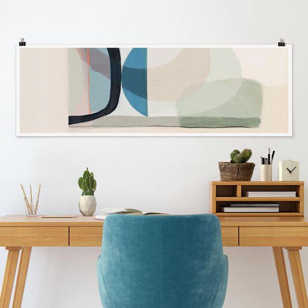 Poster - Multiform III - Panorama Querformat
