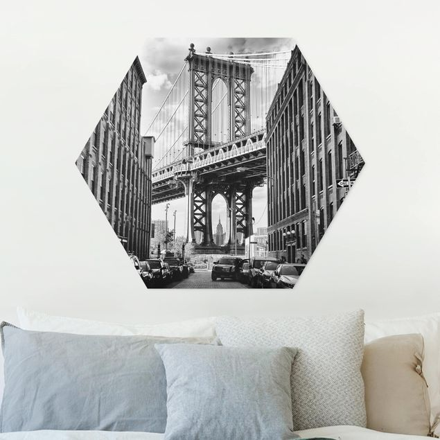 Hexagon Bild Forex - Manhattan Bridge in America