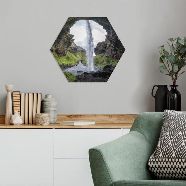 Hexagon Bild Forex - Verborgener Wasserfall