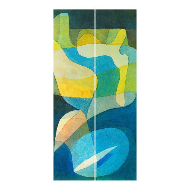 Schiebegardinen Set - Paul Klee - Lichtbreitung - Flächenvorhänge
