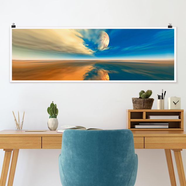 Poster - Fantasy - Panorama Querformat