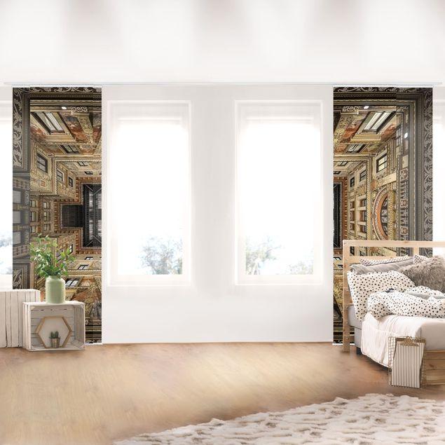 Schiebegardinen Set - Galleria Sciarra in Rom - Flächenvorhänge