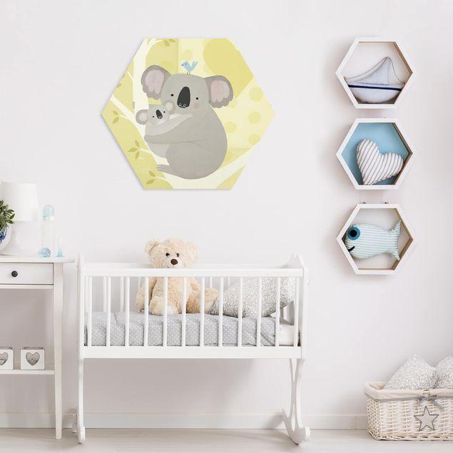 Hexagon Bild Forex - Mama und ich - Koalas