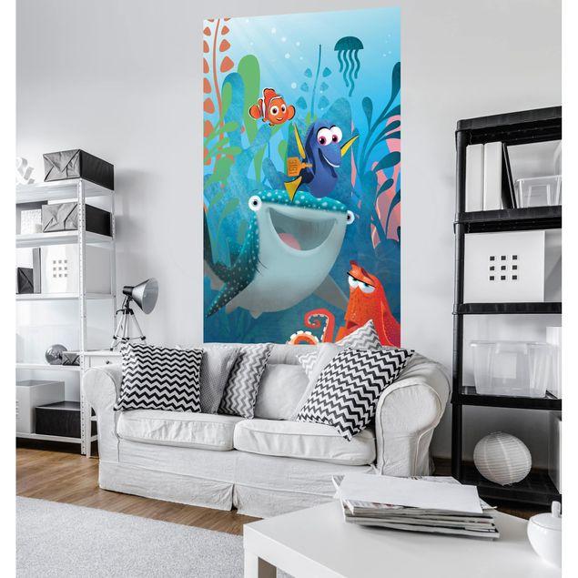 Disney Kindertapete - Finding Dory Aquarell - Komar Fototapete