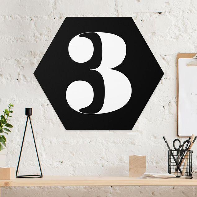Hexagon Bild Forex - Antiqua Zahl 3