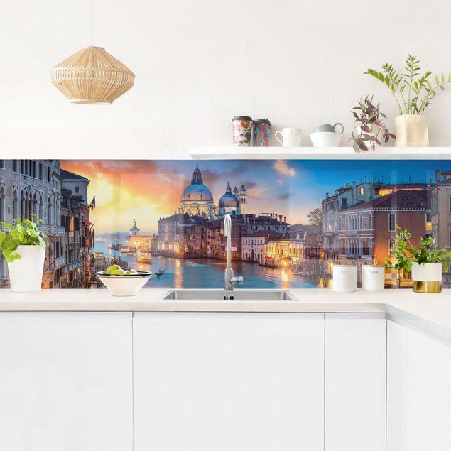Küchenrückwand - Sunset in Venice