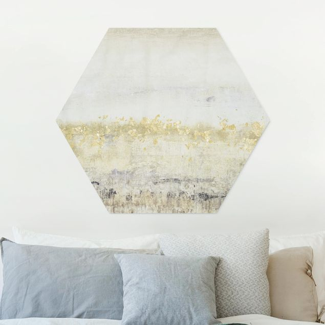 Hexagon Bild Forex - Goldene Farbfelder II