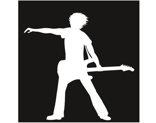Wandtattoo Kinderzimmer No.CA8 The Guitarist II