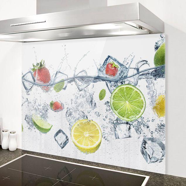 Glas Spritzschutz - Frucht Cocktail - Querformat - 4:3