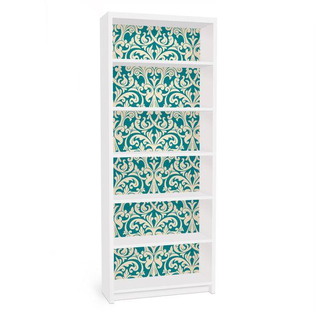 Möbelfolie für IKEA Billy Regal - Klebefolie The 12 Muses - Aoide
