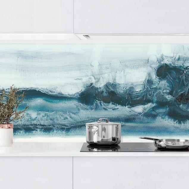 Küchenrückwand - Meeresströmung I
