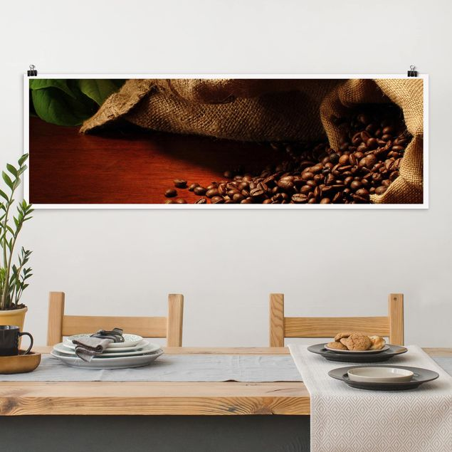 Poster - Dulcet Coffee - Panorama Querformat