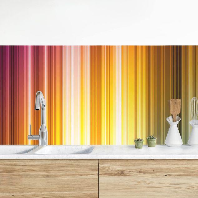 Küchenrückwand - Rainbow Light