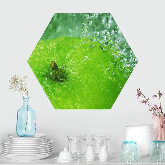 Hexagon Bild Forex - Green Apple