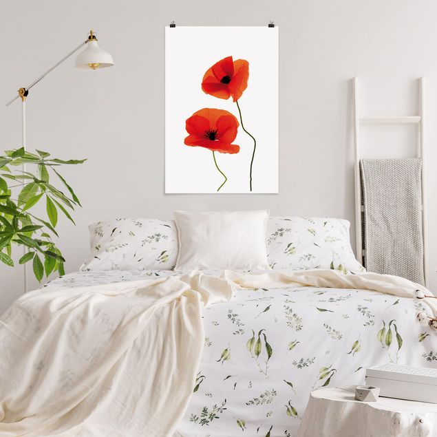 Poster - Charming Poppies - Hochformat 3:2