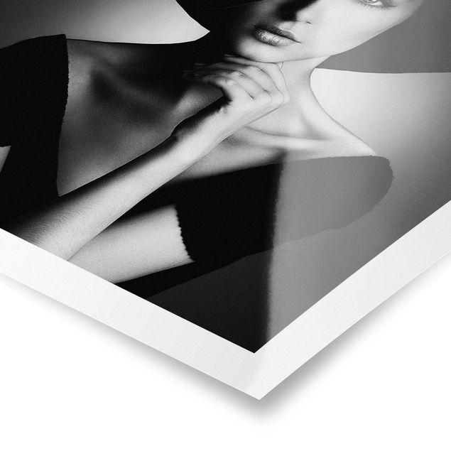 Poster - Like Audrey - Quadrat 1:1