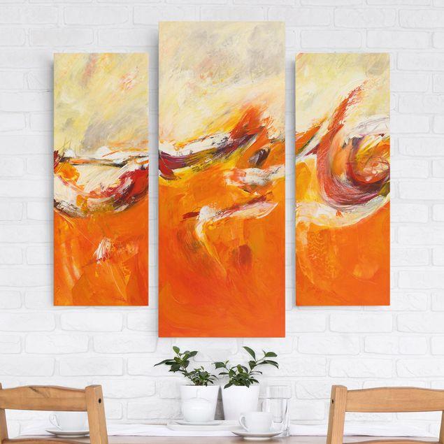 Leinwandbild 3-teilig - Die Reise - Galerie Triptychon