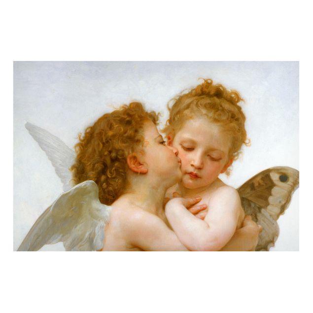 Magnettafel - William Adolphe Bouguereau - Der erste Kuss - Memoboard Querformat 2:3