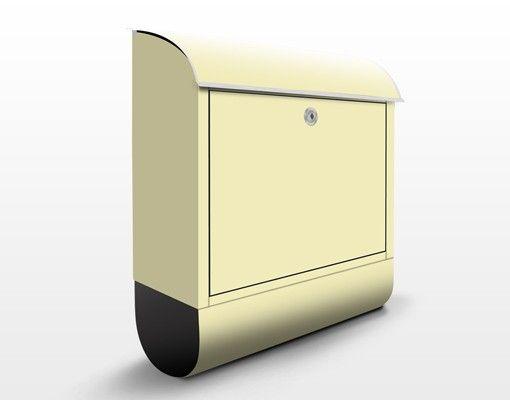 Briefkasten Crème - Colour Crème - Beige Briefkasten mit Zeitungsfach