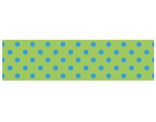 Hängelampe - Punktdesign Girly Grün